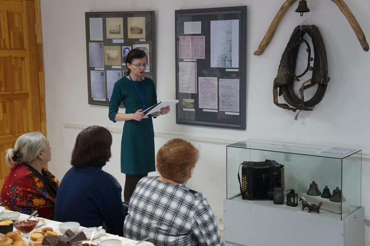 Открытие мини-выставки «Из истории гостеприимства в Касимове»
